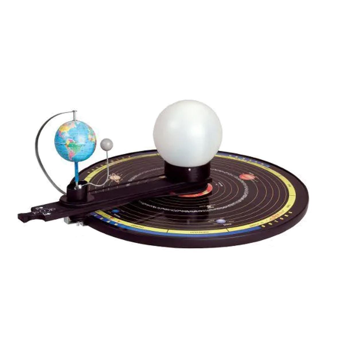 Brinquedos Educativos - Planetário em Madeira Com Polias