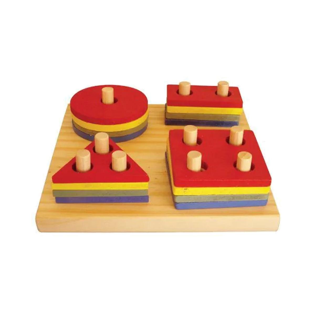 Brinquedos Educativos - Pranchas de Seleção 16 Peças