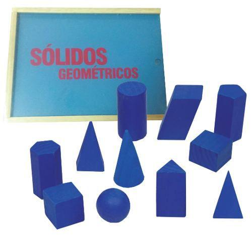 Brinquedos Educativos - Sólidos Geométricos 11 Peças