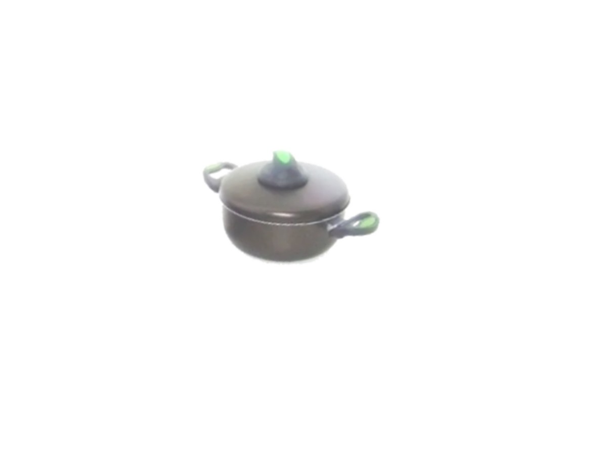 Caçarola de Alumínio Antiaderente Teflon 1,8 Litros C/ Alça