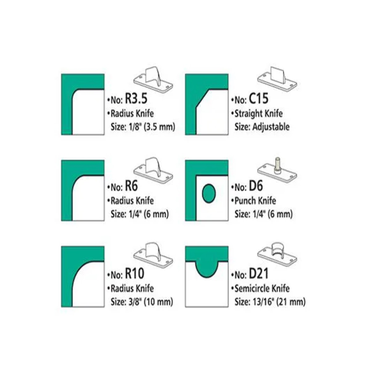 Canteadeira de Mesa 6 Em 1 Faz 6 Tipos de Corte