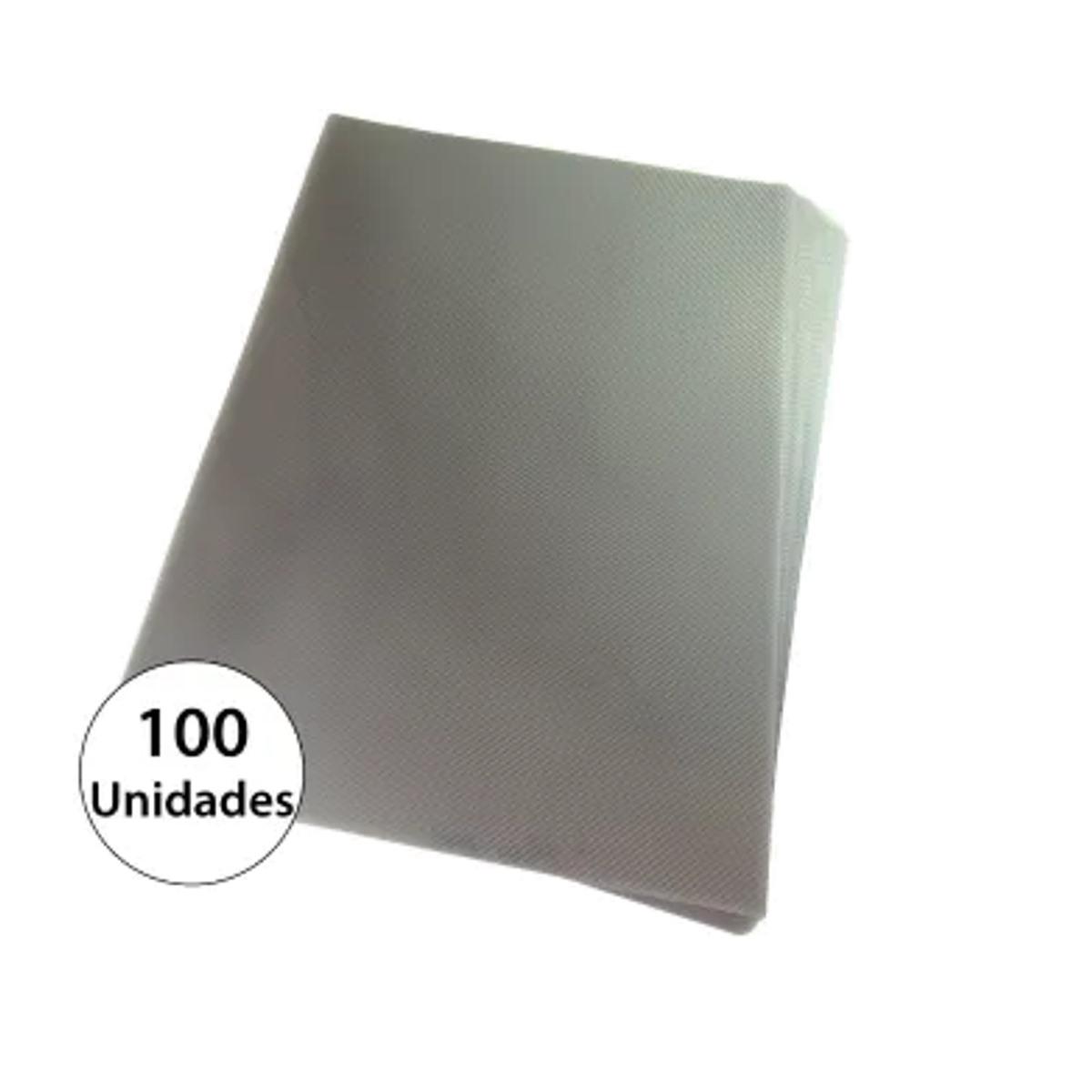 Capa para encadernação A4 Fumê PP Line 0,30mm 100un