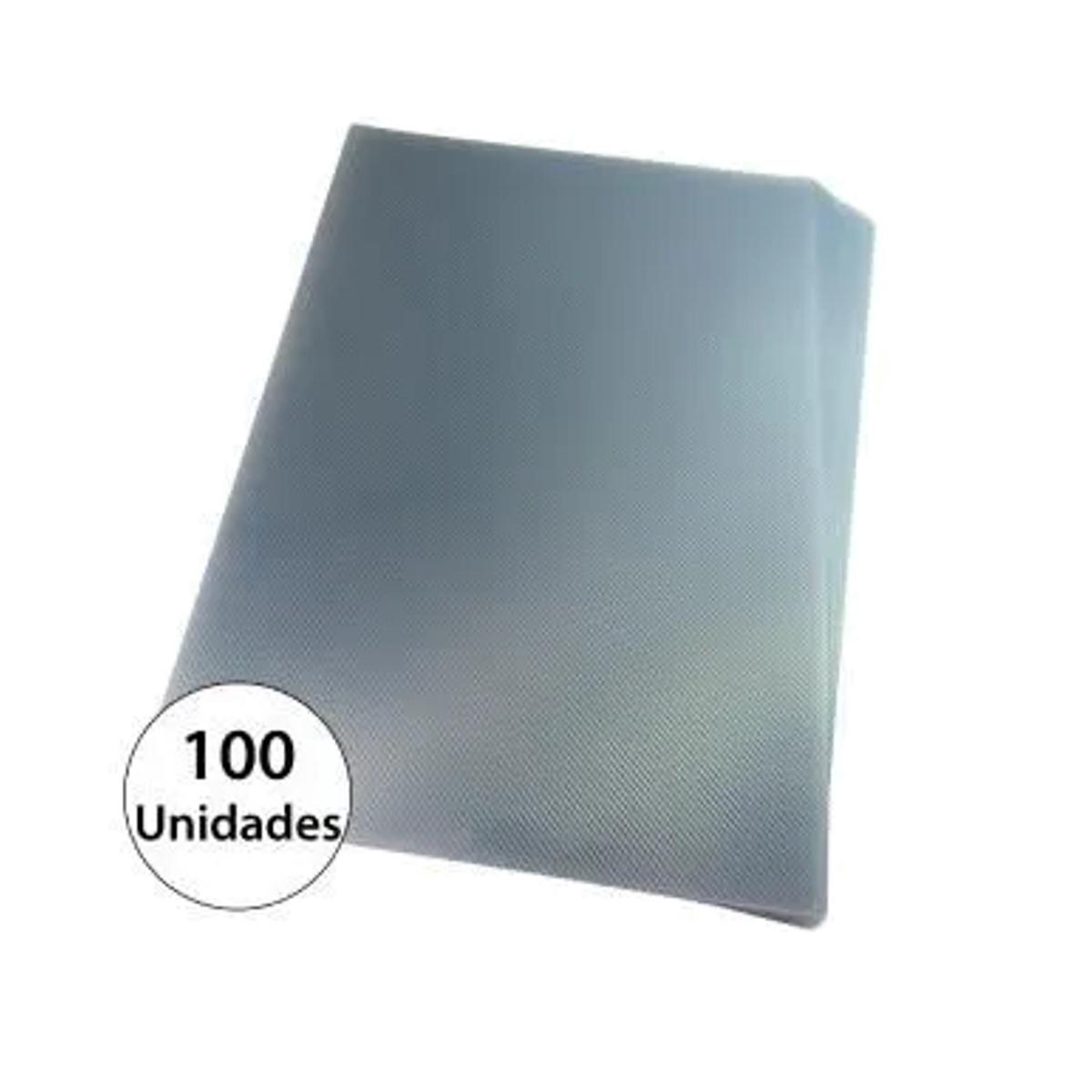 Capa para encadernação A4 Transparente PP Line 0,30mm 100un