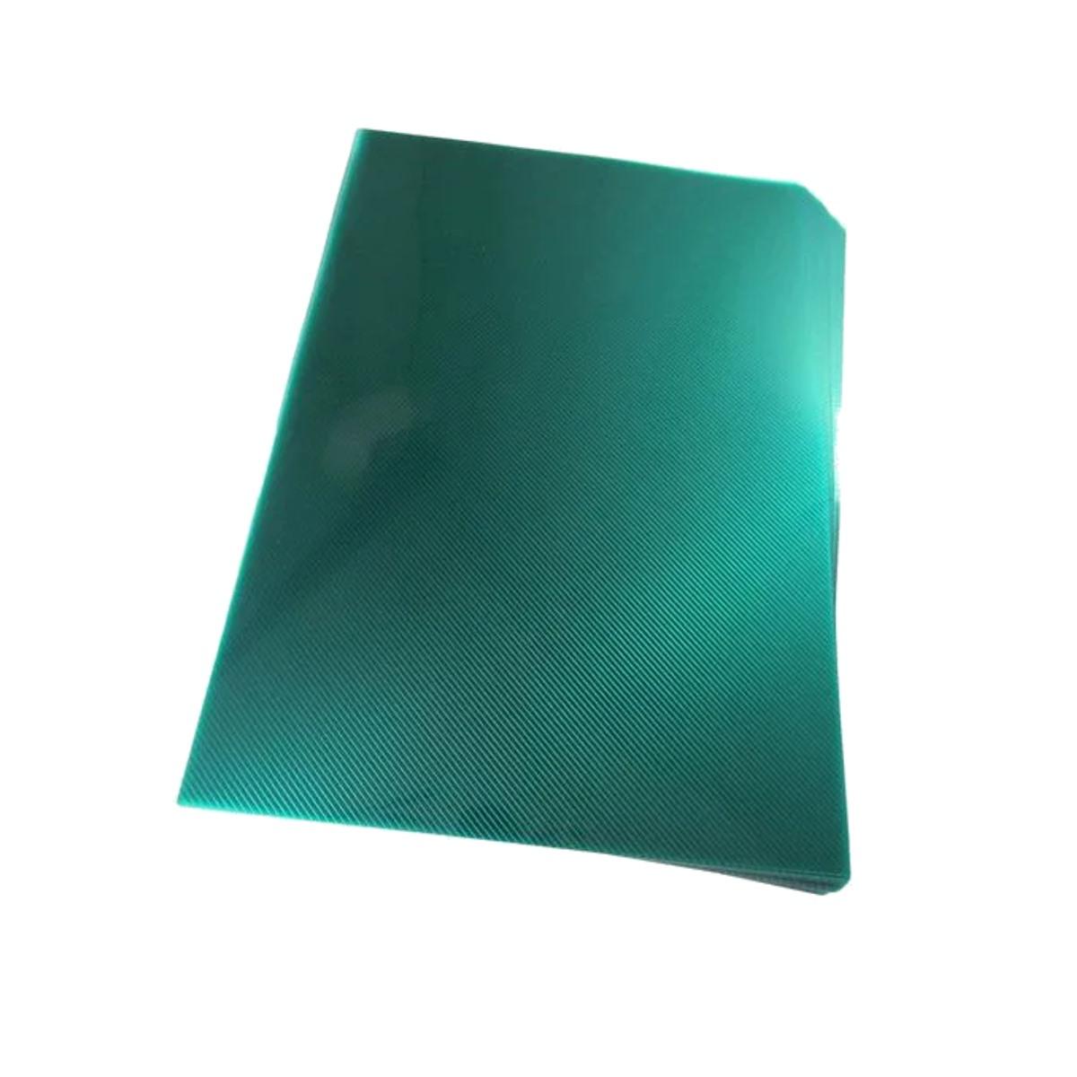 Capa para encadernação A4 Verde PP Line 0,30mm 100un