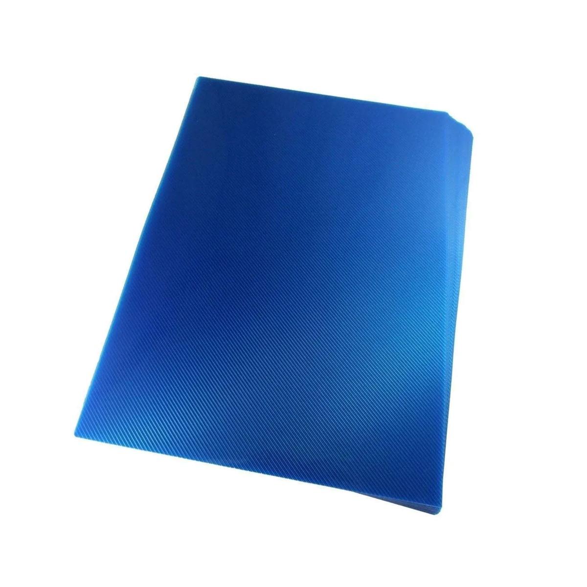 Capa para encadernação Ofício Azul PP Line 0,30mm 100un