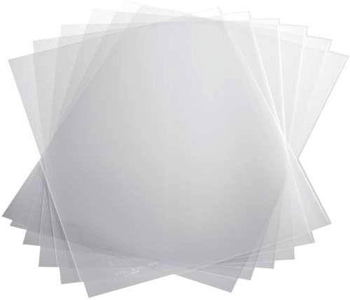 Capas Encadernação Transparente Tamanho A3 0,25 Acetato