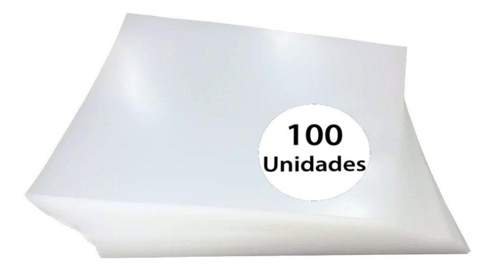 Capas para Encadernação Incolor Tamanho A4 0,28 de PVC