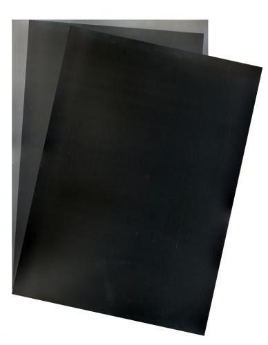 Capas Para Encadernação Preta  Tamanho A4 0,30 Pp Line
