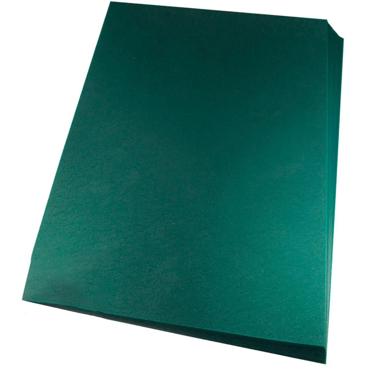 Capas para Encadernação Verde Tamanho A3 0,28 de PVC