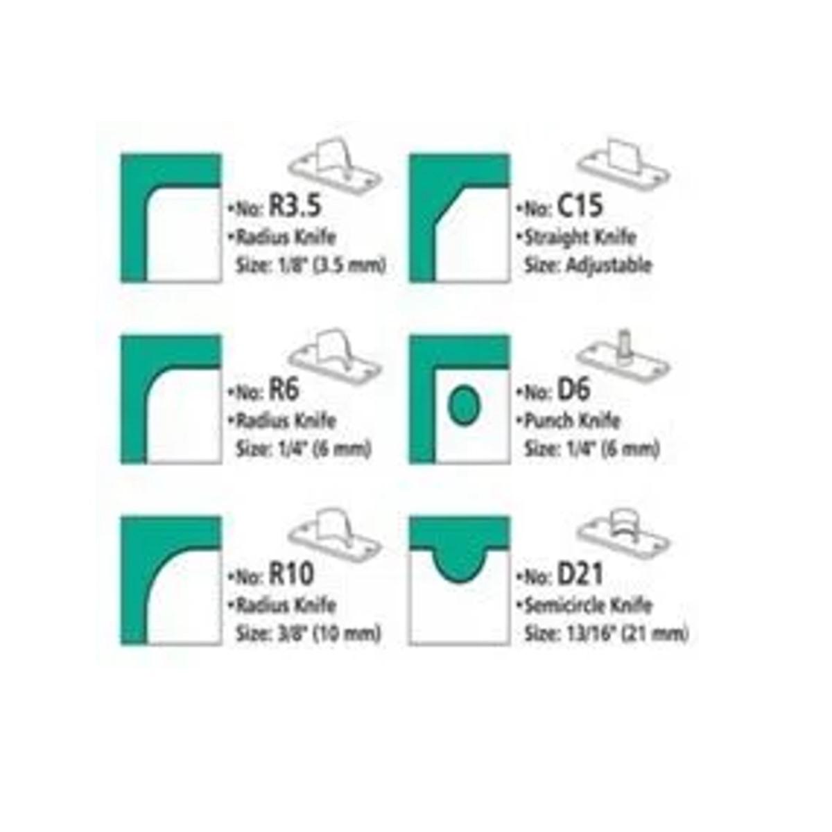 Discos de  Apoio para Canteadeira De Mesa 6x1 - Calendários