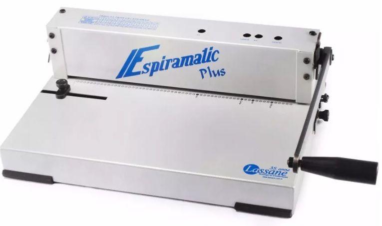 Encadernadora Perfuradora Espiramatic Plus Lassane 20 Folhas