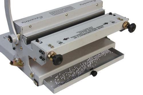 Encadernadora Perfuradora Wire-o 2x1 Fura, Fecha e Elimina