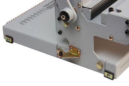Encadernadora Perfuradora Wire-o 3x1 - Fura, Fecha e Elimina