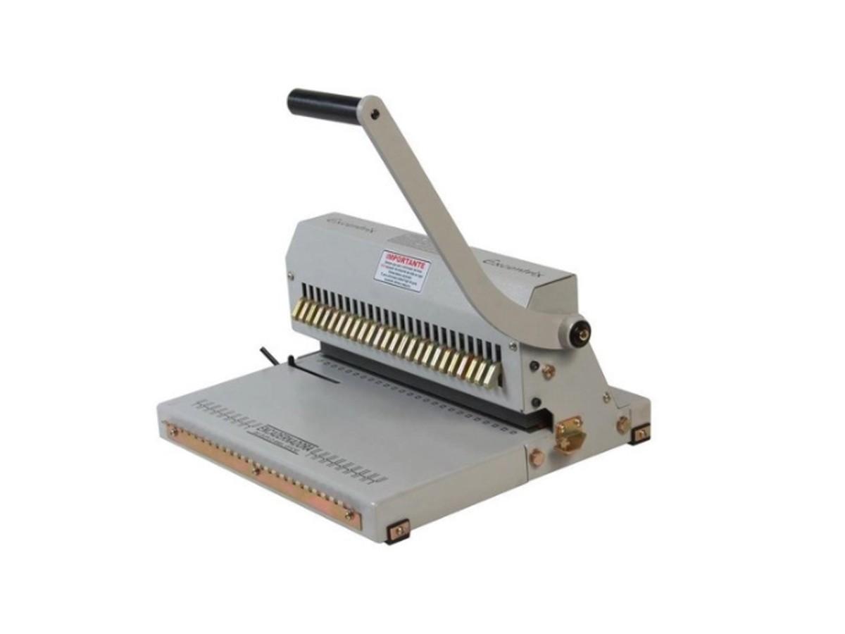 Encadernadora Perfuradora Wire-o Garra Duplo Anel Passo 2x1