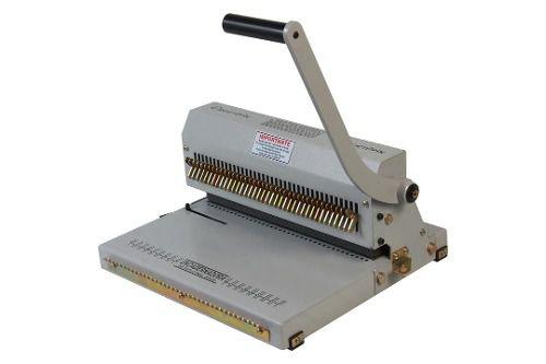 Encadernadora Perfuradora Wire-o Garra Duplo Anel Passo 3x1