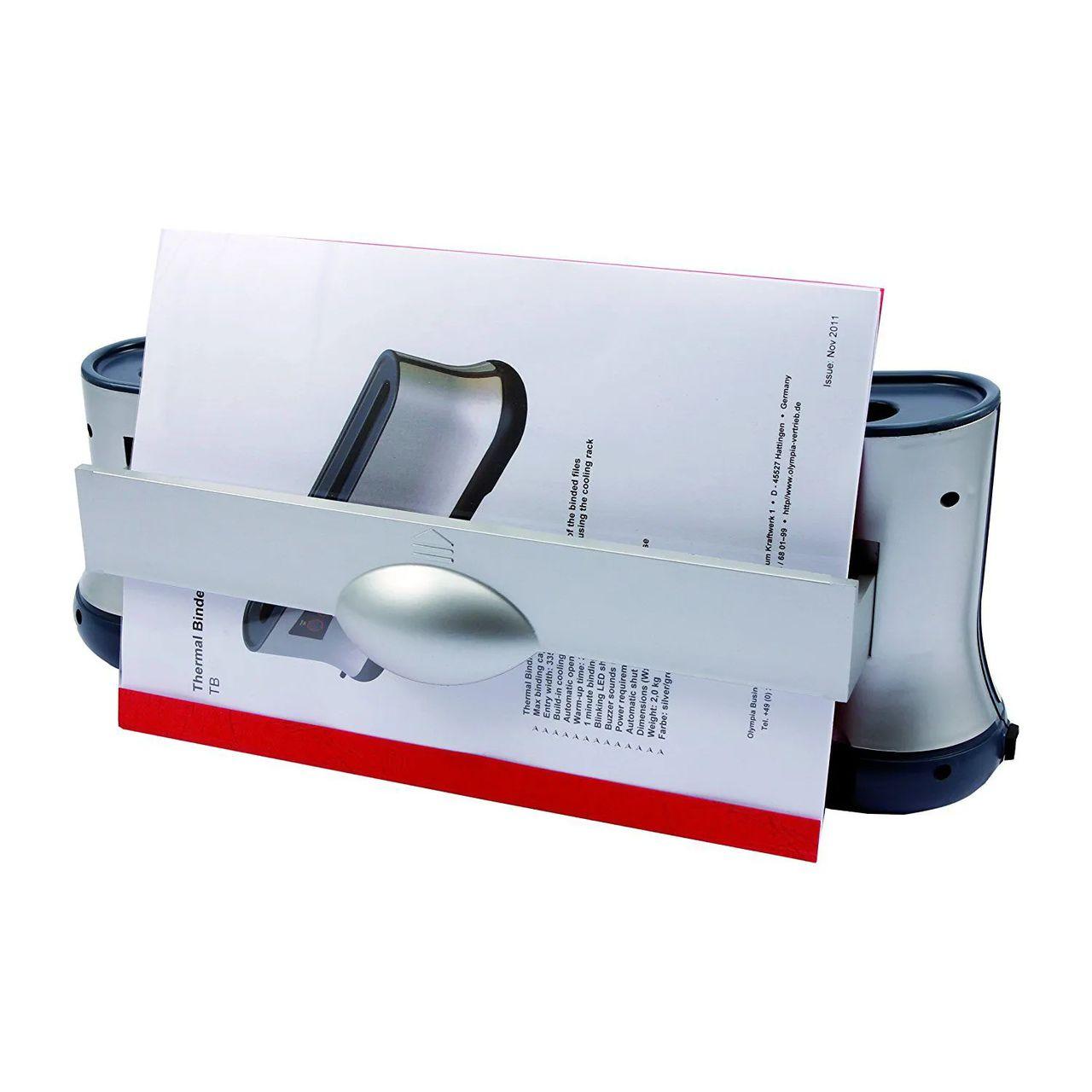 Encadernadora Térmica (termo) Bivolt Capacidade 120 Folhas