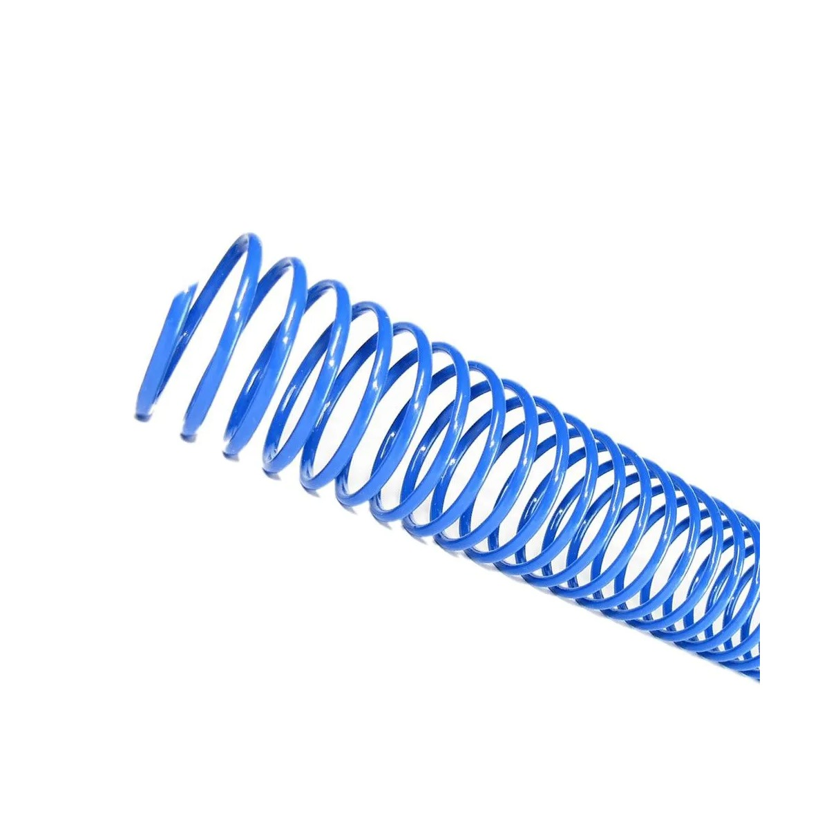 Espirais para Encadernação  Azul 40mm 350 Folhas 20 und