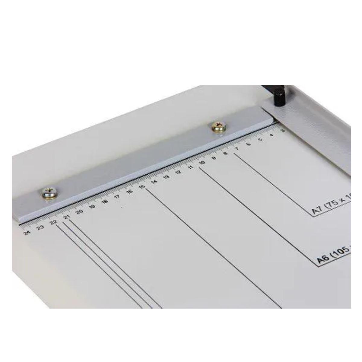 Guilhotina Refiladora Facão de Mesa 36cm Ofício Capacidade 20fls