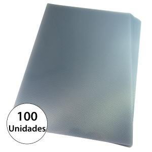 Kit Encadernação 200 Capas A4 + 500 Espirais Cristal