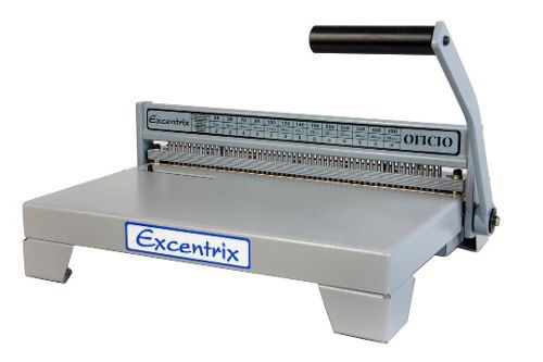 Kit Encadernadora Perfuradora Excentrix  + 400 Espirais