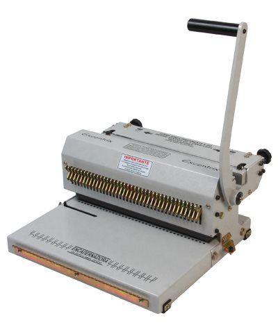Kit Encadernadora de wire-o 3x1 + 100 Capas A4 + 200 Wire-o