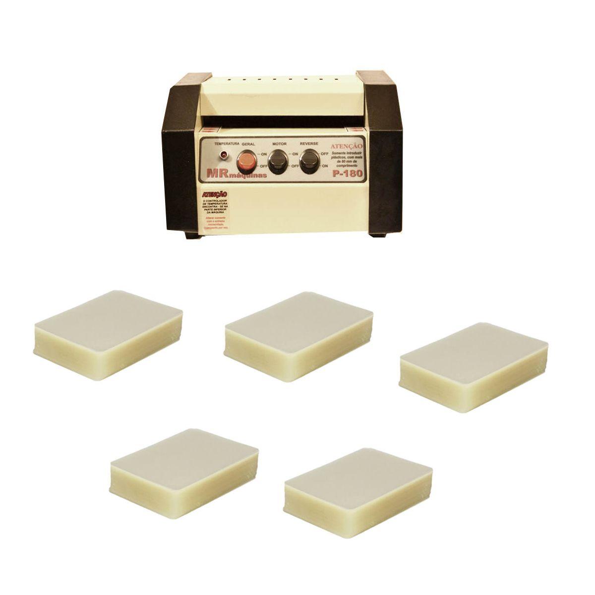 Kit Plastificadora P-180 + 1000 Polaseal