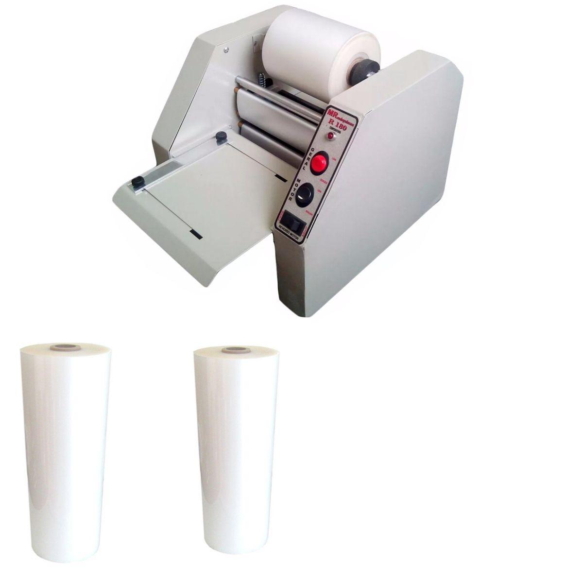 Kit Plastificadora Profissional R-180 + 2 Bobinas (RG)