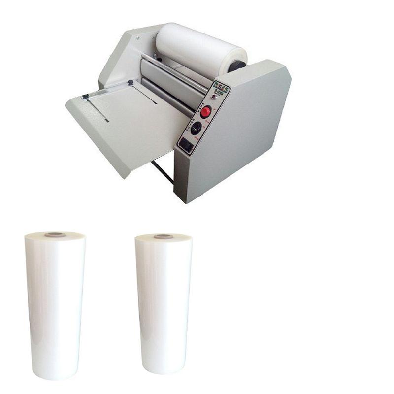 Kit Plastificadora Profissional R-280 + 02 Bobinas (Ofício)