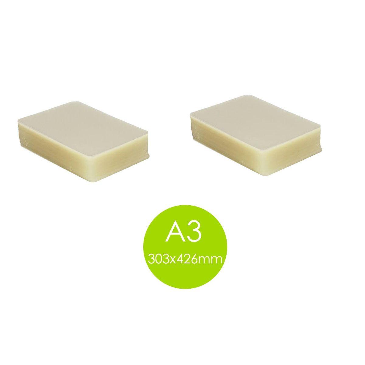 Kit Polaseal Plastificação 2 Pacotes A3