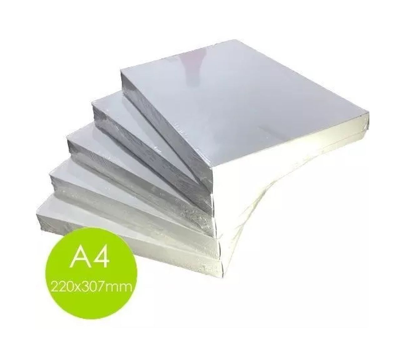 Kit Polaseal Plastificação 5 Pacotes Tamanho A4 220x307mm