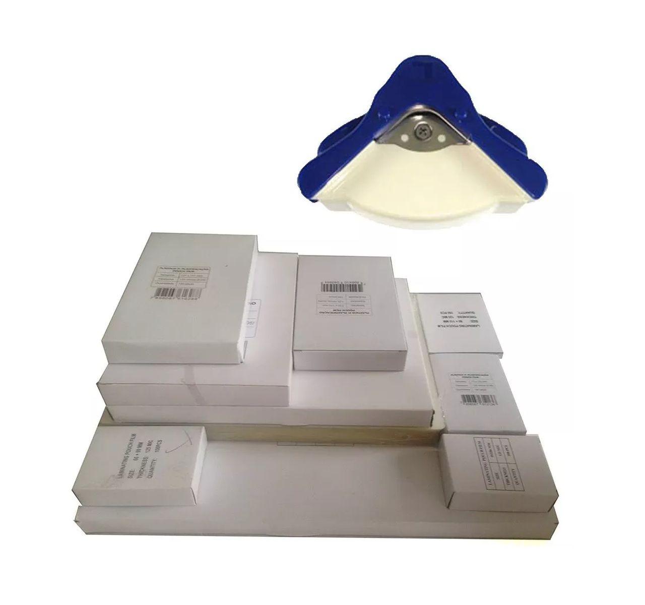 Kit Plastificação 300 und de Polaseal + Mini Canteadeira