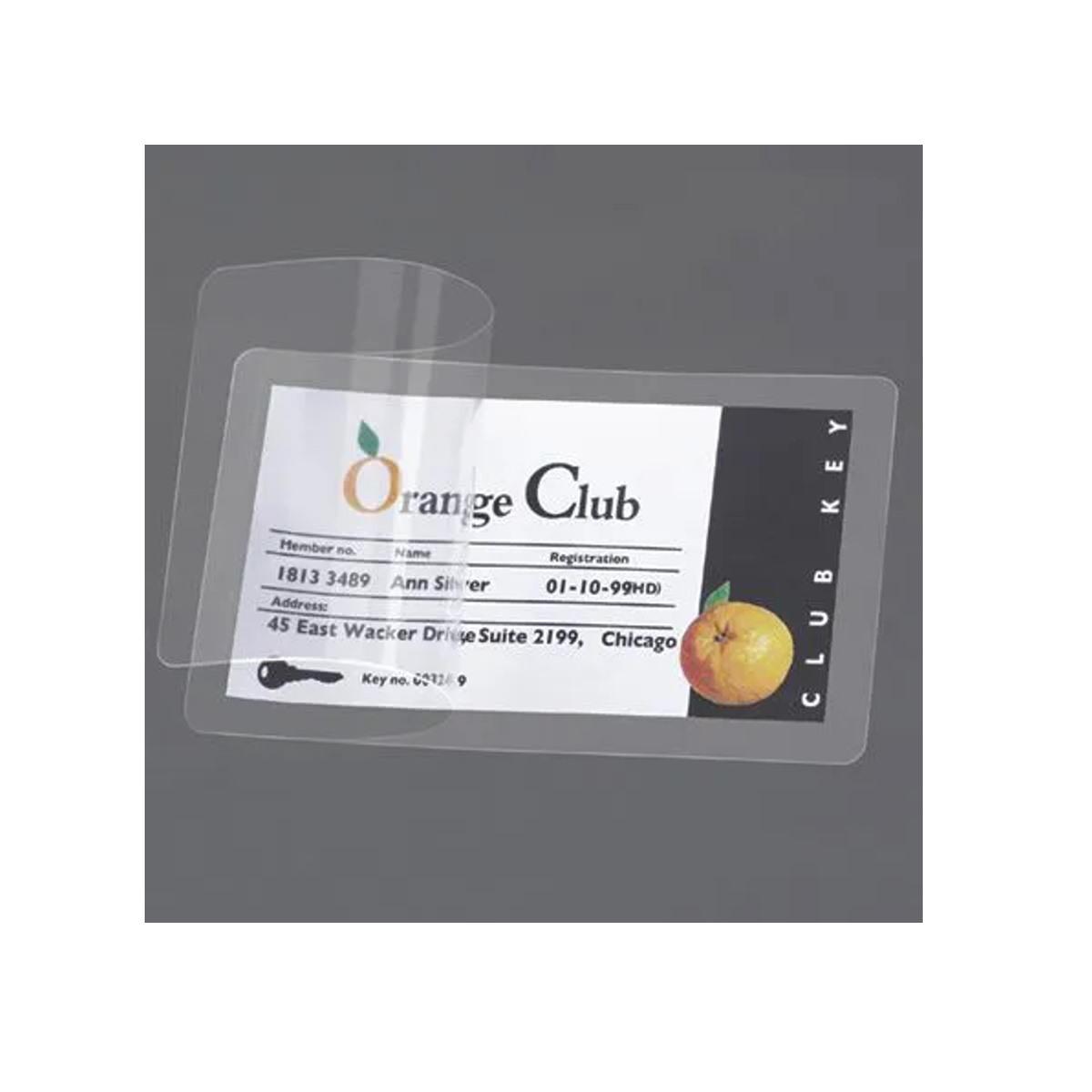 Lâmina para Plastificação A Frio Cpf - Caixa Com 100 Unds