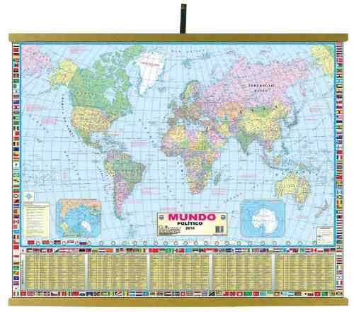 Mapas Educativos - Mundo Político 900x1200mm