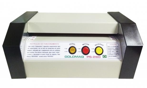Maquina de Plastificação PS-280 com 200 Polaseal Ofício