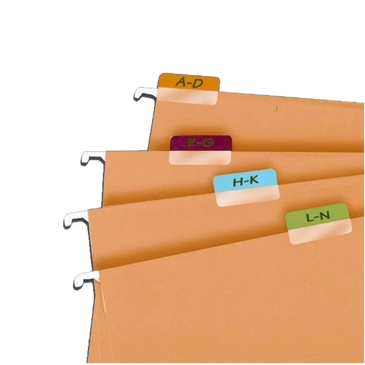 Marcador de Páginas Index Tabs Cor Branco Caixa 10 Blisters