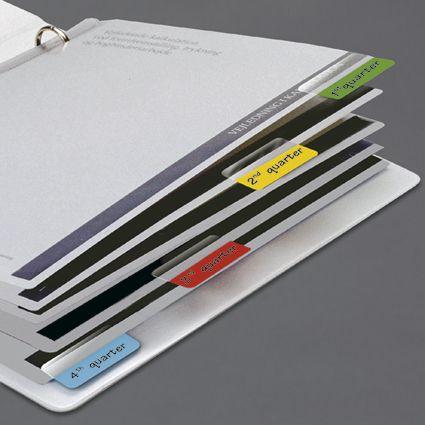 Marcador Páginas Index Tabs Bilateral Colorido 24 Unidades