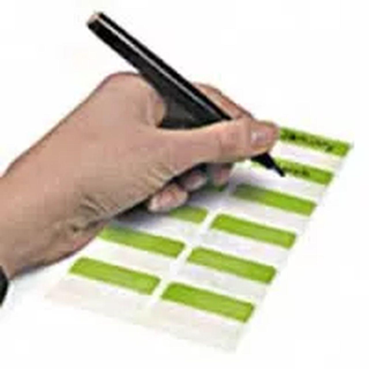 Marcador Páginas Index Tabs Branco Reposicionáveis 80 Unds