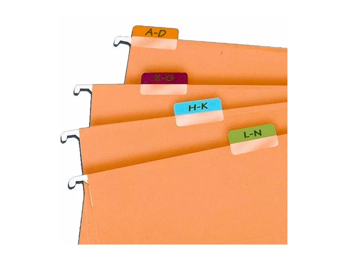 Marcador Páginas Index Tabs Fluorescente Blister com 80 Unidades
