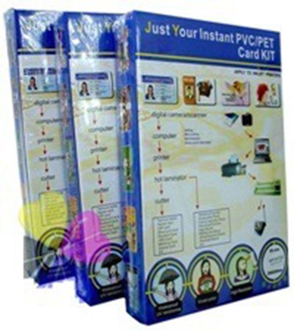 Placas de PVC imprimíveis  150un (somente Placas)