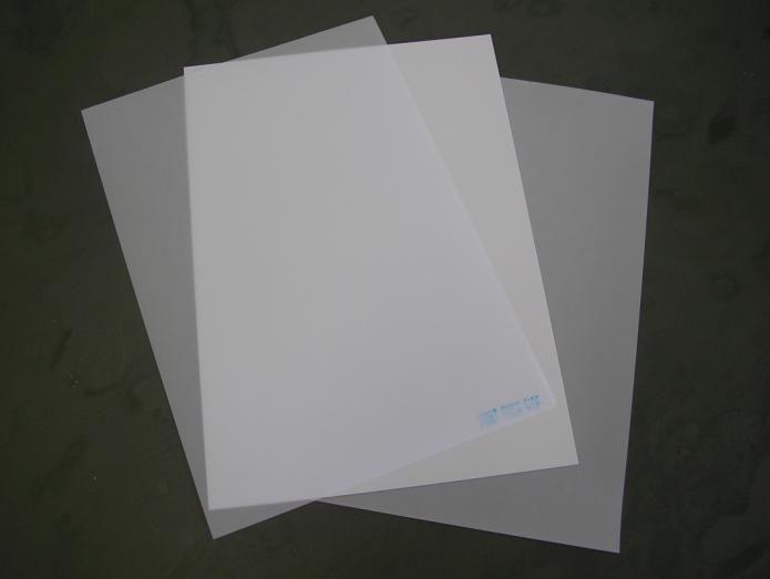 Placas de PVC para crachás, cardápios e avisos A3 50 und