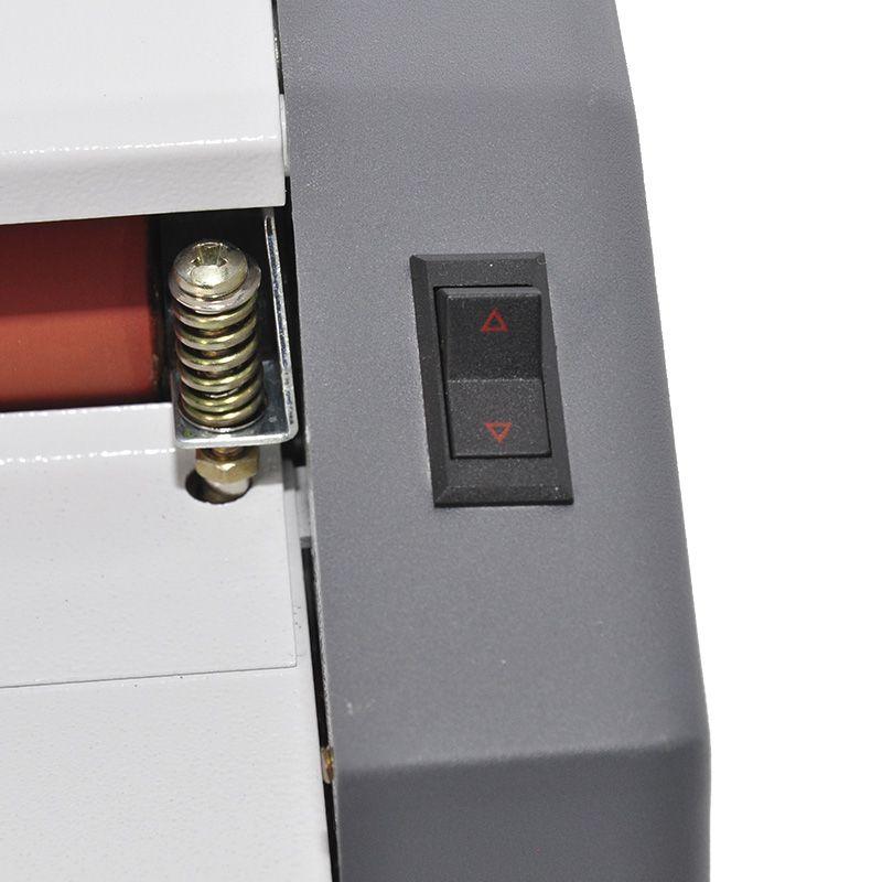 Plastificadora Gazela Ofício Cil Silicone com Reverso AC 91.23.36