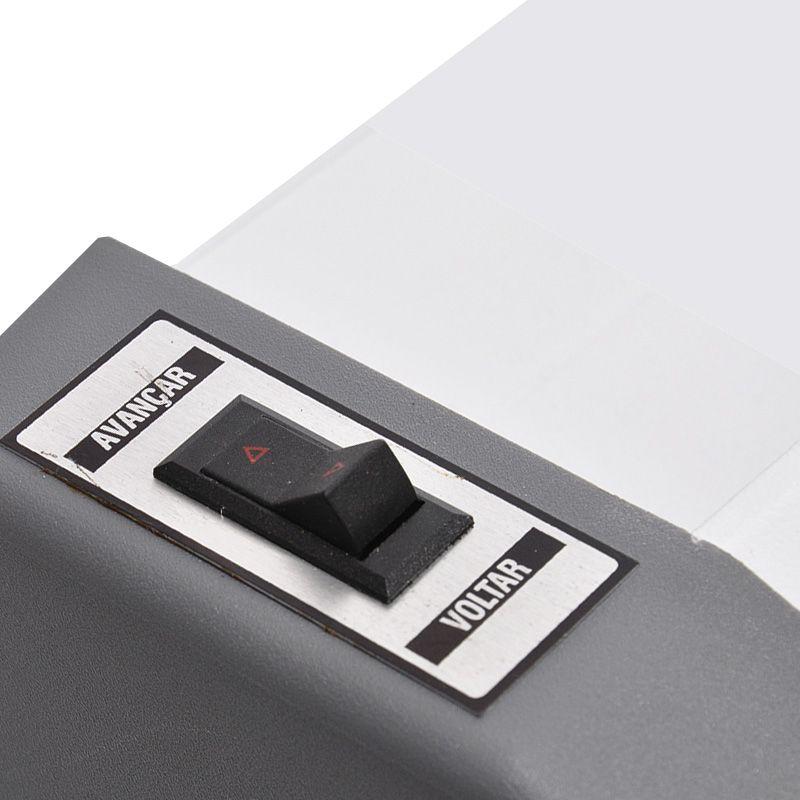 Plastificadora Gazela Premium 02 Velocidade Tamaho Ofício AC 91.23.45