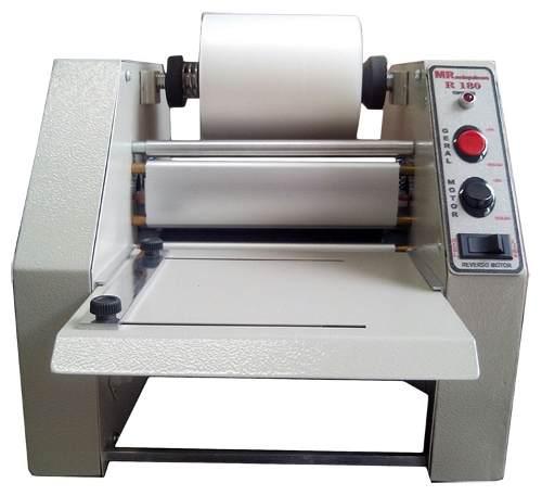 Plastificadora Profissional De Bobina Para Crachá Rg Cic Cpf R-180