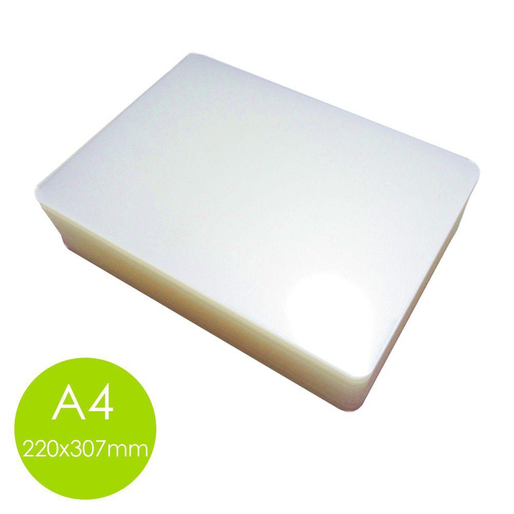 Polaseal plástico para plastificação A4 220x307 0,07mm 100un