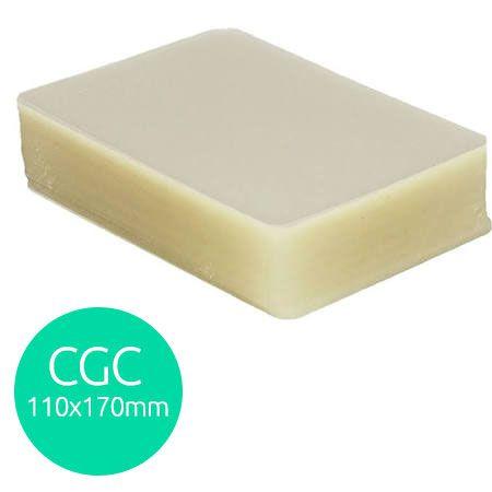 Polaseal plástico para plastificação CGC 110X170 0,07 mm 100un