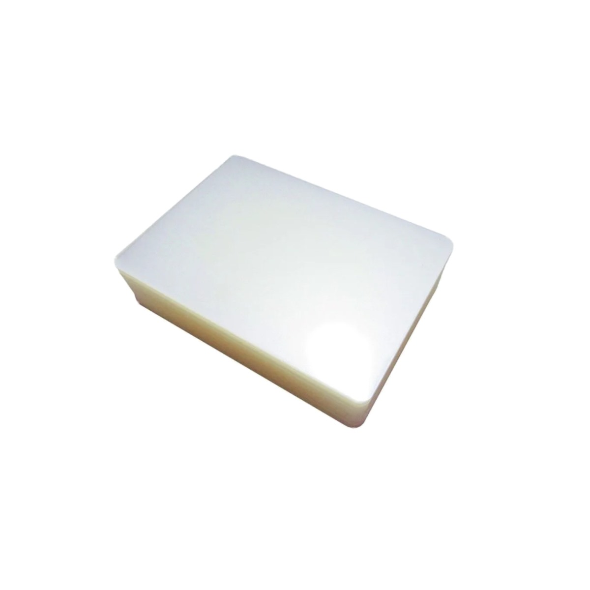 Polaseal plástico para plastificação Crachá 59x86 0,07mm 100un
