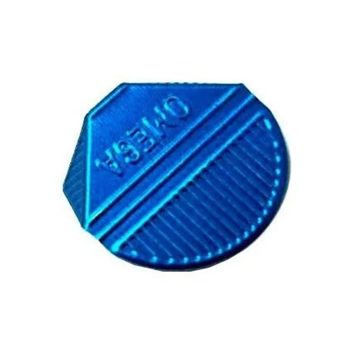 Prendedor de  Papel Presclip Omega - Caixa 1000 Unds Azul