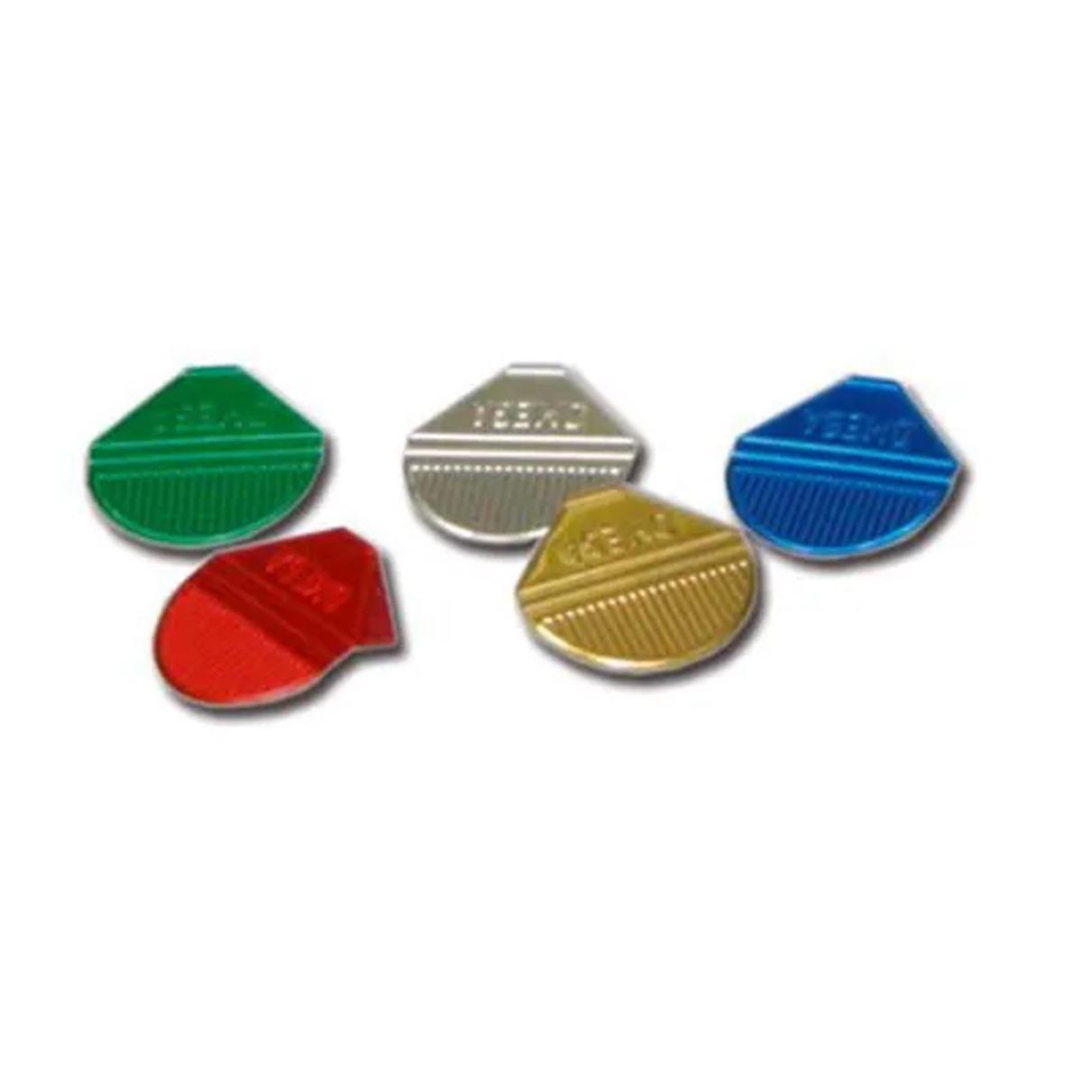 Prendedor de  Papel Presclip Omega - Caixa 1000 Unds Cores Sortidas