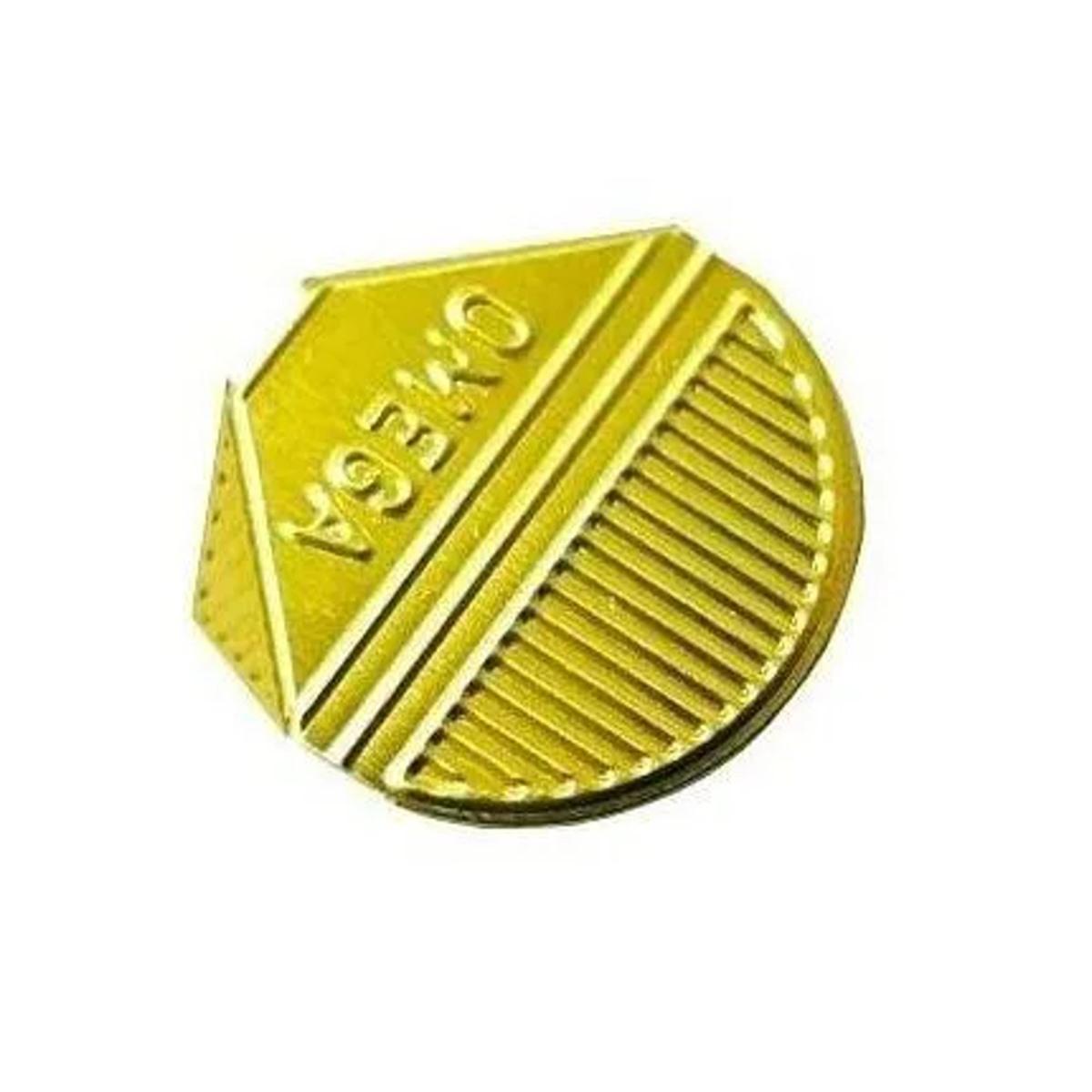 Prendedor de  Papel Presclip Omega - Caixa 1000 Unds Ouro