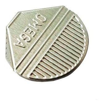 Prendedor de  Papel Presclip Omega - Caixa 1000 Unds Prata